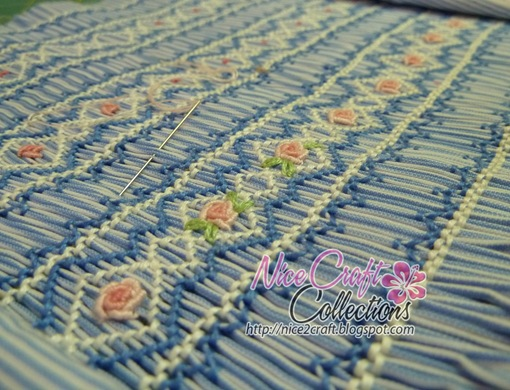 Silent Sunday | Smocking (wip)