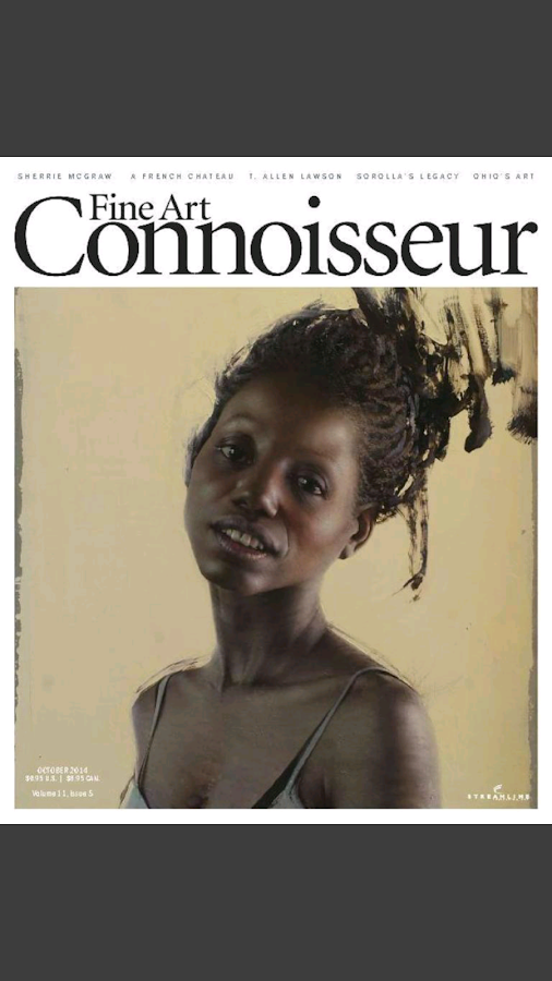 Fine Art Connoisseur Magazine- screenshot
