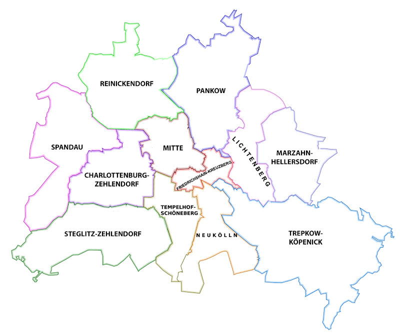 arrondissements de Berlin