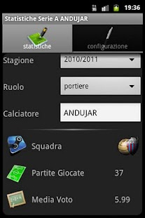 Statistics Serie A Magic - screenshot thumbnail