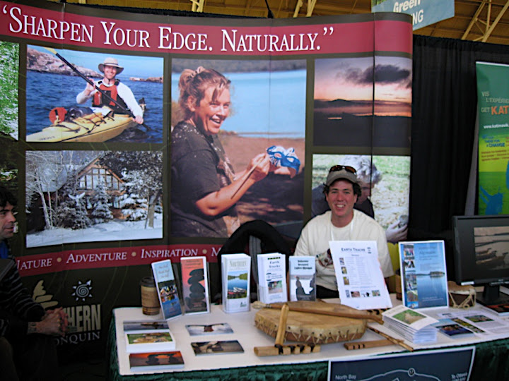 Alexis at the Green Show Booth