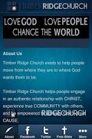 Screenshot of Timber Ridge Church