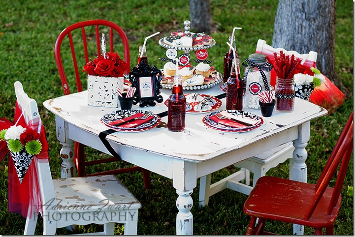styled tablescape