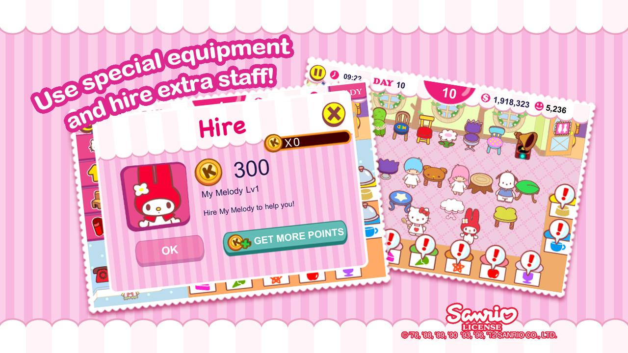 Hello Kitty Cafe - screenshot