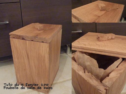 faire une poubelle de salle de bains le blog de claire et azdine. Black Bedroom Furniture Sets. Home Design Ideas