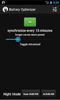 Screenshot of Battery Optimizer