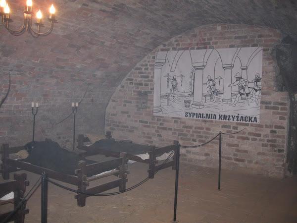 Podziemia zamku krzyżackiego