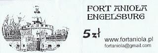 Fort Anioła - bilet