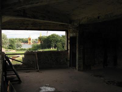 Fort Zachodni - galeria schronu dowodzenia