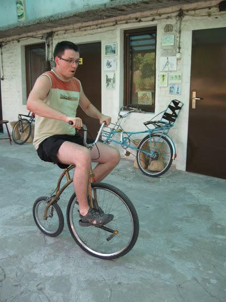 muzeum rowerów - na bicyklu