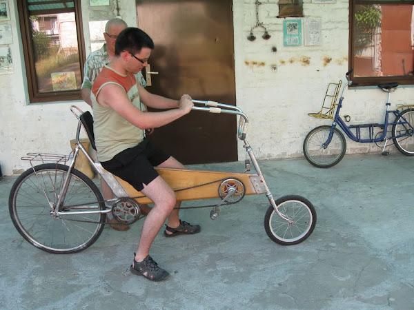 muzeum rowerów gołąb - rower poziomy