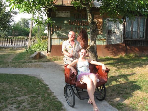 muzeum rowerów gołąb - riksza