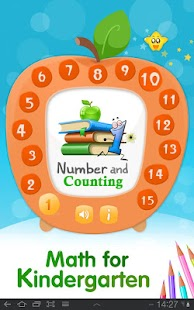 Math for kindergarteners - screenshot thumbnail
