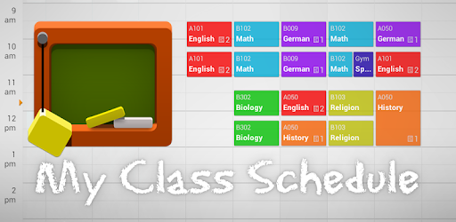 my class schedule timetable apps on google play