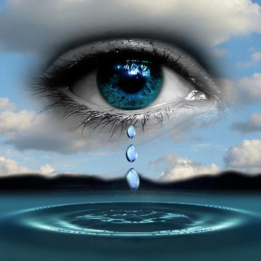 3D Eye Drop Ripple LOGO-APP點子