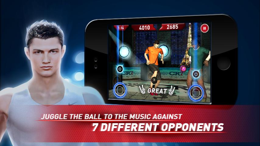 Cristiano Ronaldo Freestyle - screenshot
