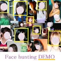 Face hunting demo logo