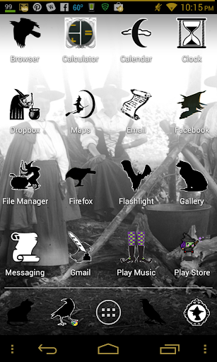 Witches Theme Apex Nova ADW