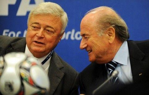 0d54266c2c Ricardo Teixeira Presidente perpétuo da CBF e Joseph Blatter imperador da  FIFA
