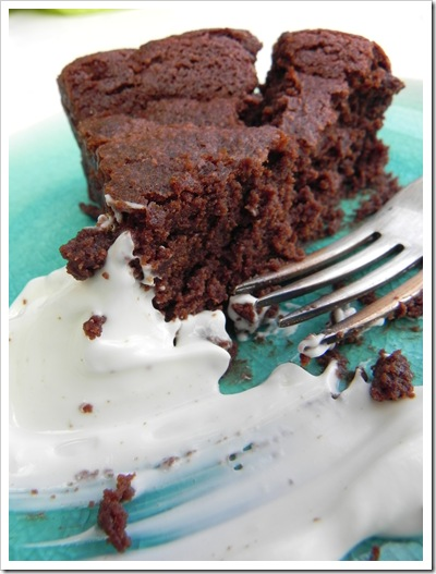 Chestnut and chocolate cake