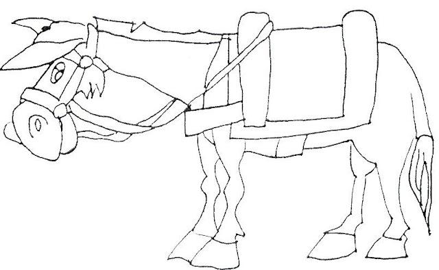 Don Quijote Dibujos Para Pintar Recortar Pegar Y Jugar