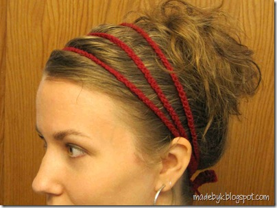 Made by K - Tutorials  Crocheted Headband Tutorial for Beginners 5eef44ddd2f