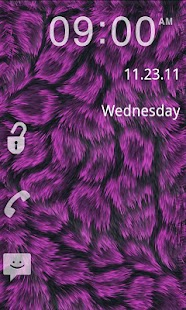 GO Locker- Pink Fur Theme- screenshot thumbnail