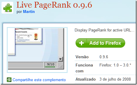 Live PageRank 3