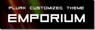 Plurk Customized Theme Emporium