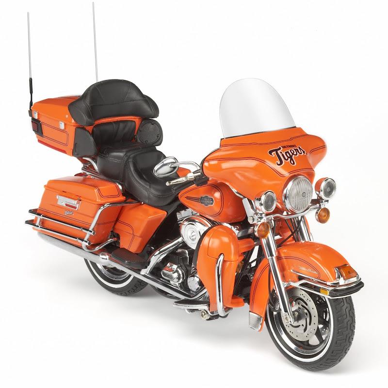 Detroit Tigers Diecast Harley Davidson Motorcycle 1 12