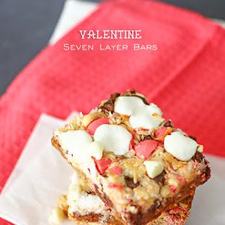 Valentine Seven Layer Bars
