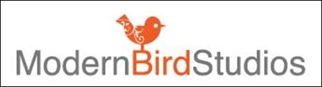 现代鸟工作室徽标