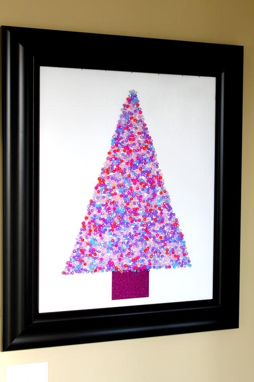 复古圣诞树