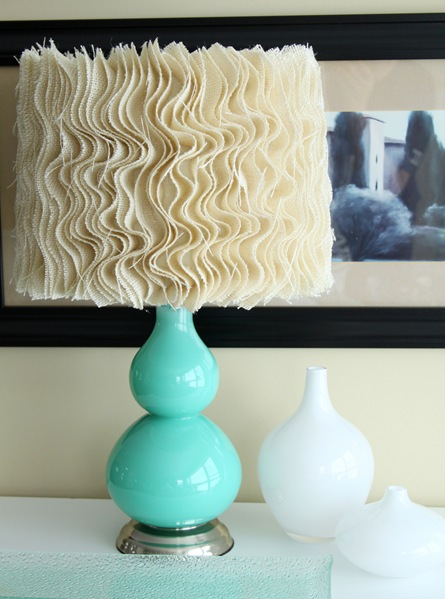 Ruffled Lampshade