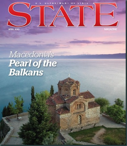 U.S. DEPARTMENT OF STATE: MACEDONIA'S PEARL OF THE BALKANS