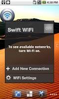 Screenshot of Swift WiFi