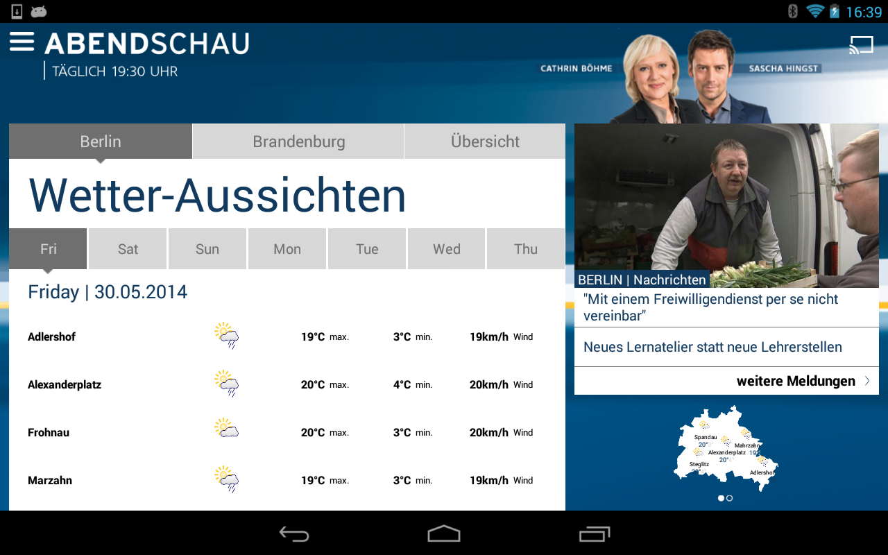Abendschau- screenshot