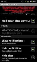 Screenshot of Multi Mount SD-Card Lite