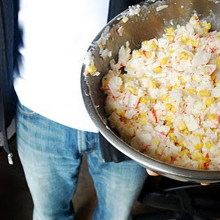 Crab and Corn Rice Salad Recipe