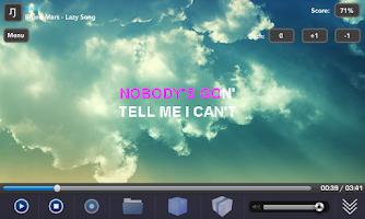 Screenshot of VocalKe Karaoke Free