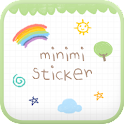 Mini-Me sticky go launcher icon