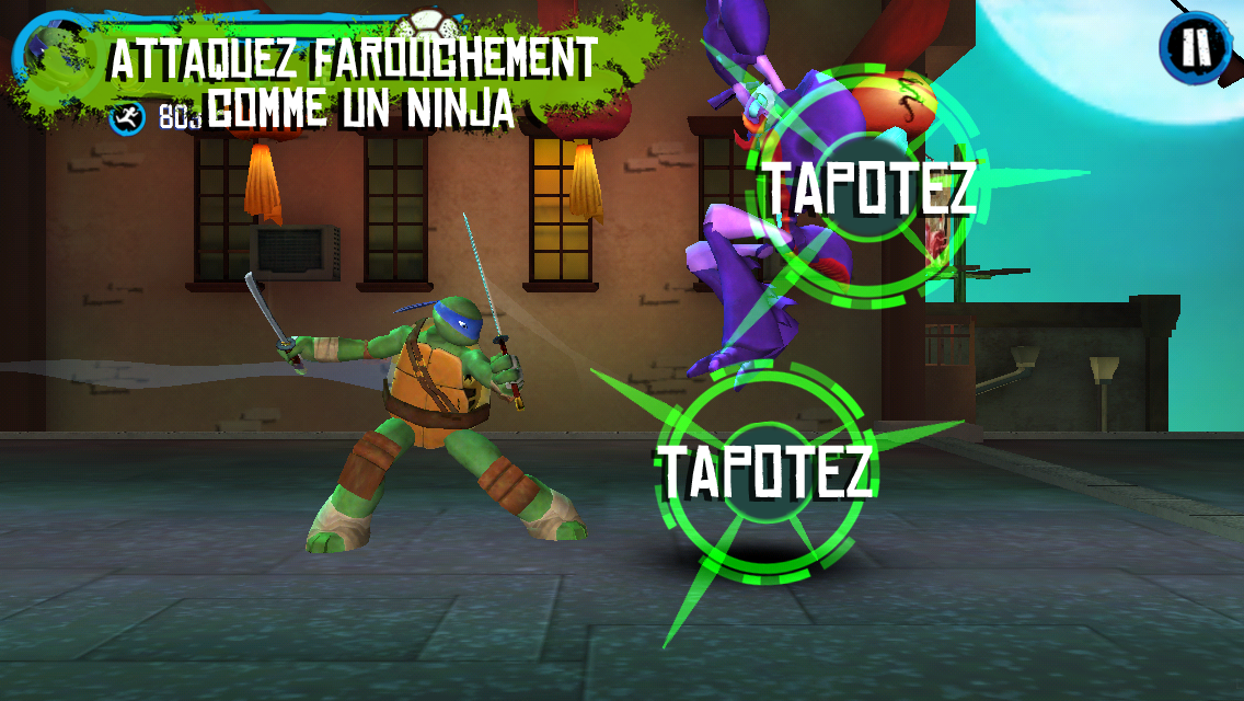 tmnt la poursuite capture dcran