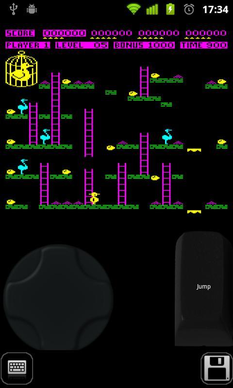 Beebdroid (BBC Micro emulator) - screenshot