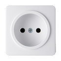 Battery reminder: AC Socket logo