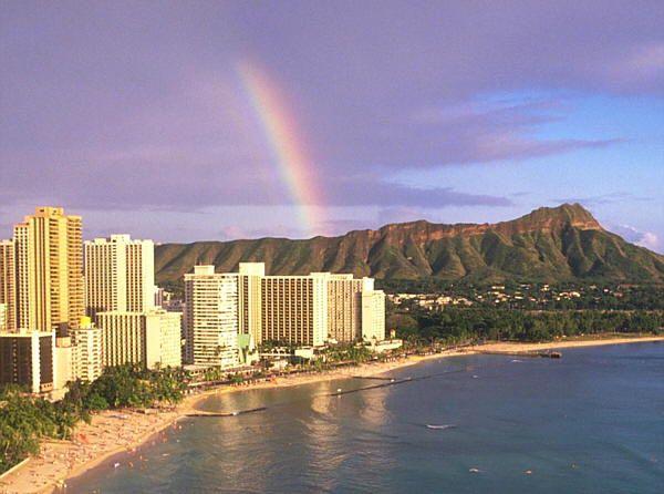 El arco iris tormentas y ciudades - Cual es el color anil ...