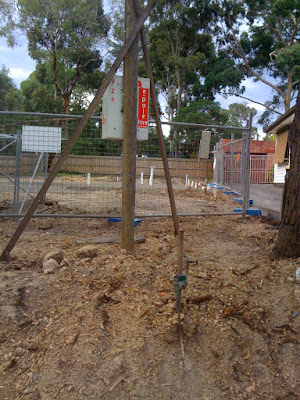 Tim & Tina's new home building blog - redevelopment in