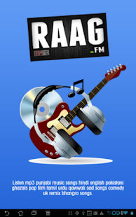 Raag.fm - listen indian music - screenshot thumbnail