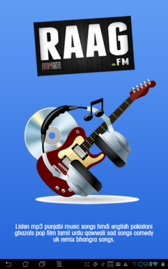 Raag.fm - listen indian music - screenshot