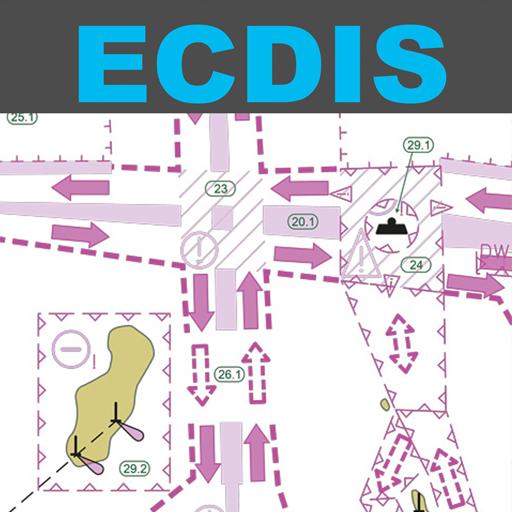 Electronic Chart Symbols ECDIS LOGO-APP點子
