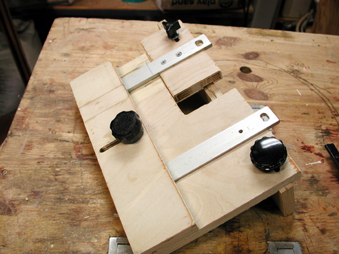 Wood Shop Projects And Jigs Small Mortise Hinge Jig For